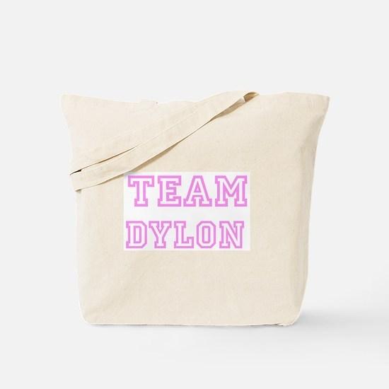 Pink Team: Dylon Tote Bag