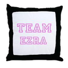 Pink Team: Ezra Throw Pillow