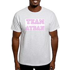 Pink Team: Aydan Ash Grey T-Shirt