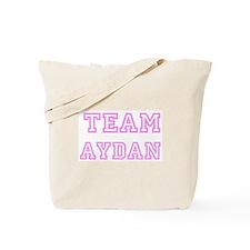 Pink Team: Aydan Tote Bag