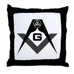 Royal Arch Mason (SR) Throw Pillow