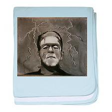Frankenstein baby blanket