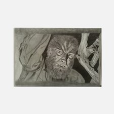 Wolfman Rectangle Magnet