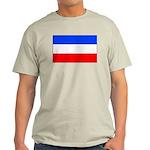 Yugoslavia Ash Grey T-Shirt