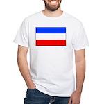 Yugoslavia White T-Shirt