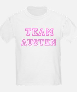 Pink Team: Austen Kids T-Shirt