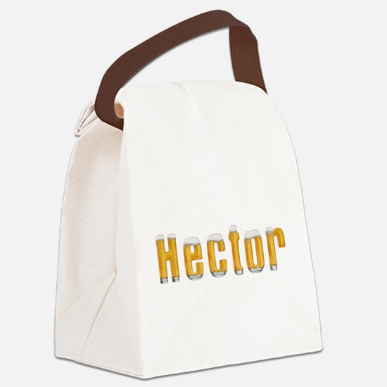 Hector Beer Canvas Lunch Bag