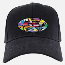 Chronic Pain Syndrome Collage Baseball Hat