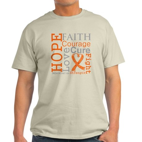 Multiple Sclerosis Faith Light T-Shirt