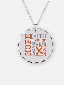 Multiple Sclerosis Faith Necklace