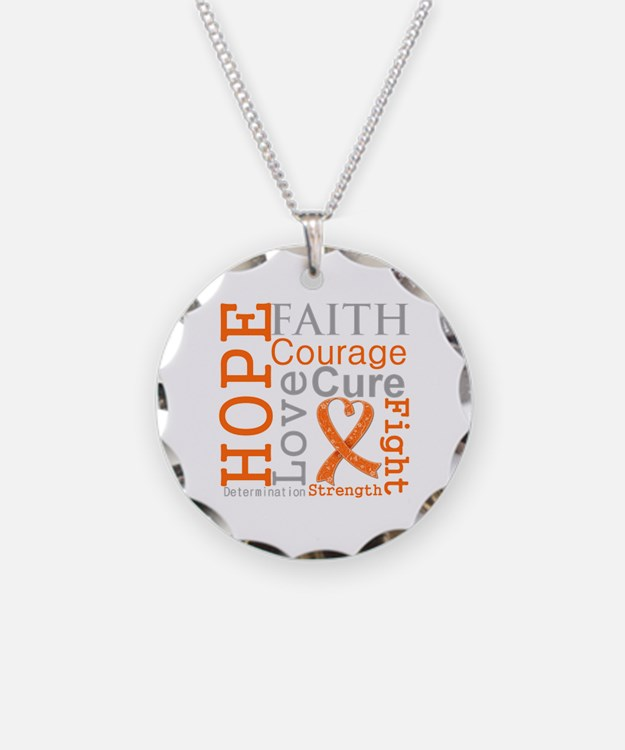 Multiple Sclerosis Faith Necklace