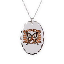 Hope Multiple Sclerosis Necklace Oval Charm