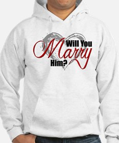 Will You Marry Him? Hoodie