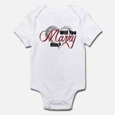 Will You Marry Him? Infant Bodysuit