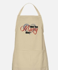 Will You Marry Him? Apron