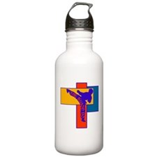 TKD Power Kick Sports Water Bottle
