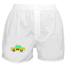 Wee New York Cab! Boxer Shorts
