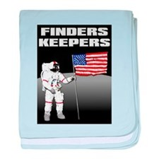 Finders Keepers Lunar Landing Funny T-Shirt baby b