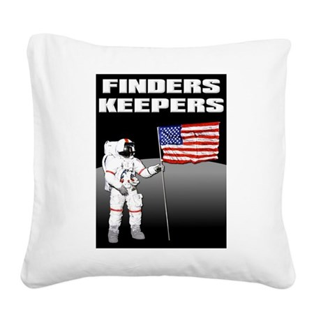Finders Keepers Lunar Landing Funny T-Shirt Square