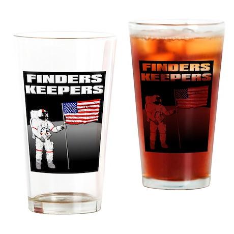 Finders Keepers Lunar Landing Funny T-Shirt Drinki