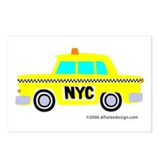 Wee New York Cab! Postcards (Package of 8)