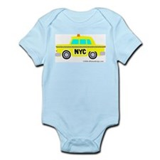 Wee Big New York Cab! Infant Bodysuit