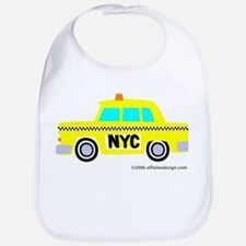 Wee New York Cab! Bib