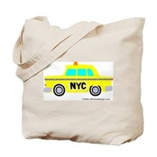 Wee New York Cab! Tote Bag