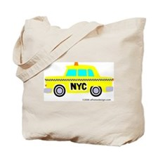 Wee New York Cab! Tote Bag