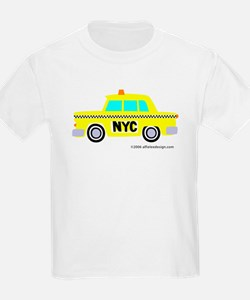Wee Big New York Cab! Kids T-Shirt