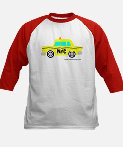 Wee Big New York Cab! Kids Baseball Jersey
