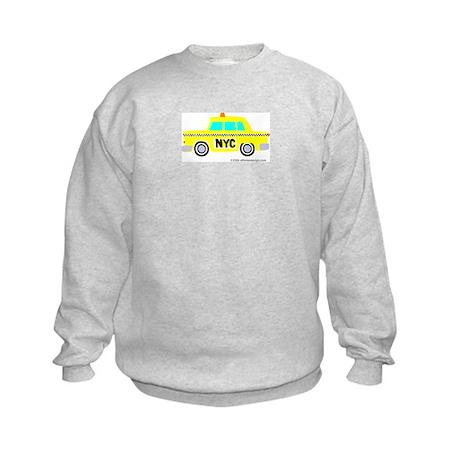 Wee New York Cab! Kids Sweatshirt