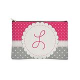 Monogram letter l Makeup Bags