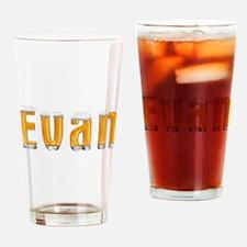 Evan Beer Drinking Glass
