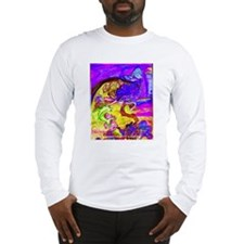 Mermaid Violet Bliss Long Sleeve T-Shirt
