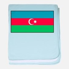 Azerbaijan - Azerbaijani National Flag baby blanke
