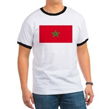 Morocco Moroccan Blank Flag T