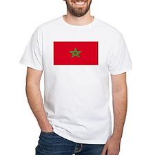 Morocco Moroccan Blank Flag Shirt