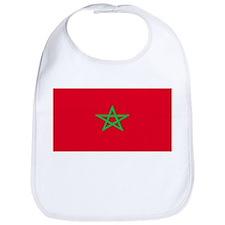Morocco Moroccan Blank Flag Bib