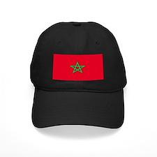 Morocco Moroccan Blank Flag Baseball Hat