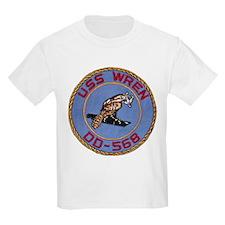 USS WREN Kids T-Shirt