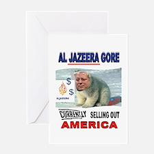 AL JAZEERA GORE Greeting Card