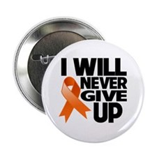 "Never Give Up Multiple Sclerosis 2.25"" Button (10"