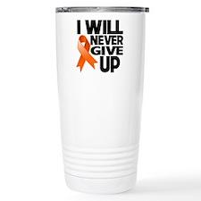 Never Give Up Multiple Sclerosis Travel Mug