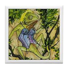 Popstar Chameleon Tile Coaster