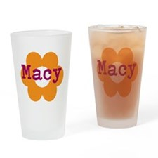Macy1 Drinking Glass