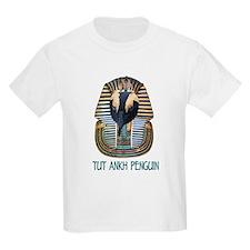 Tut Ankh Penguin Kids T-Shirt