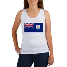Anguilla - Anguillian Flag Women's Tank Top