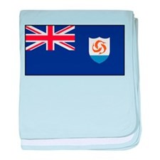 Anguilla - Anguillian Flag baby blanket