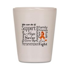 Multiple Sclerosis Support Shot Glass